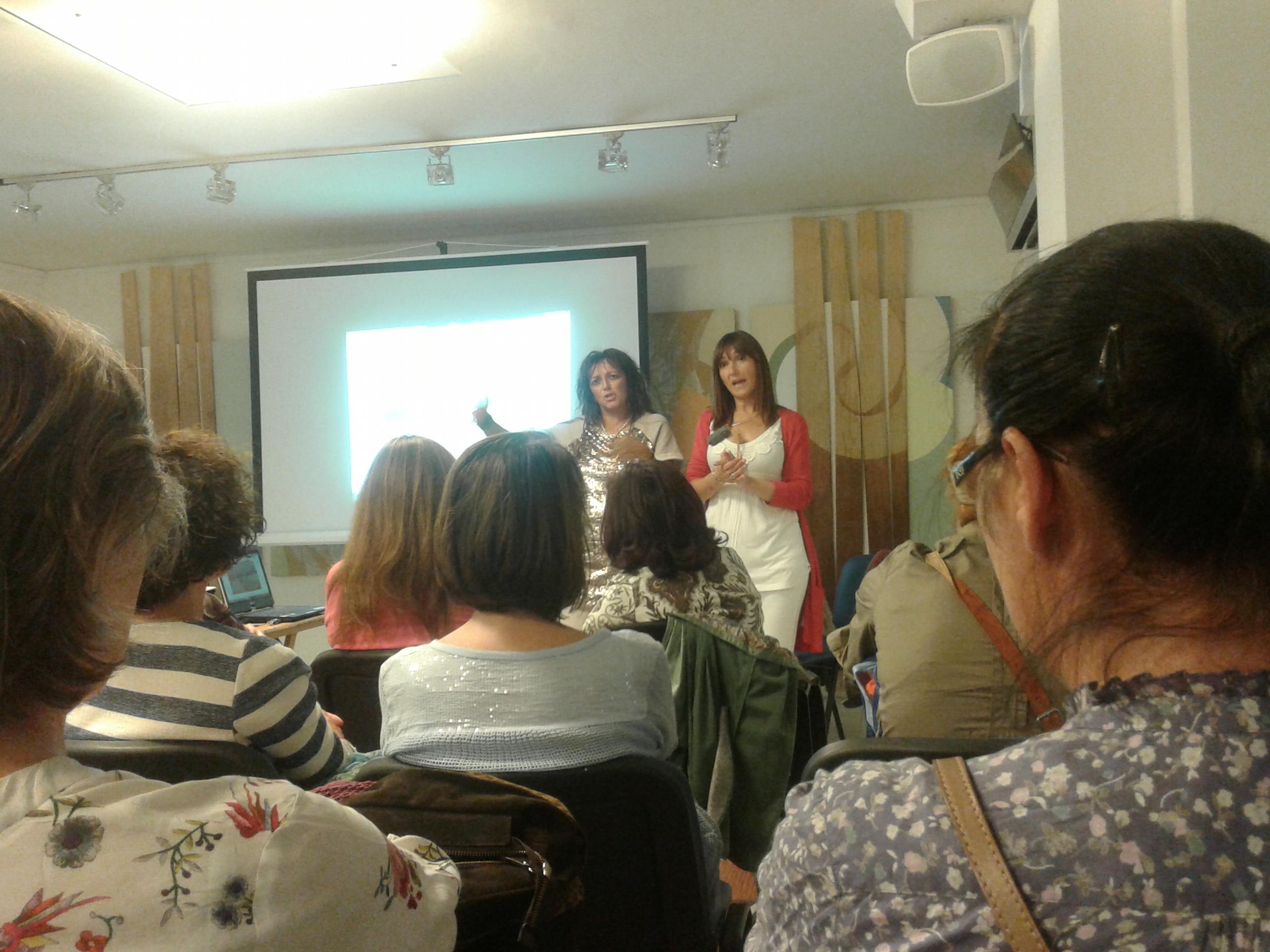 Conferencia de Damanhur en Madrid, 3 de Octubre de 2014