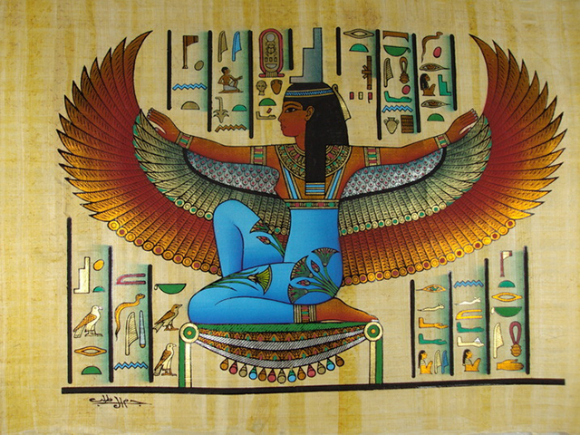 isis papyrus