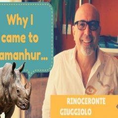 Por eso vine a Damanhur – Rinoceronte Giuggiolo