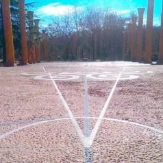Restauración del suelo del Templo Abierto