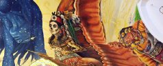 El esqueleto y la mariposa